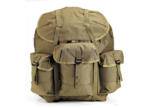 - Rothco Enhanced Nylon Alice Pack with Frame, Olive Drab