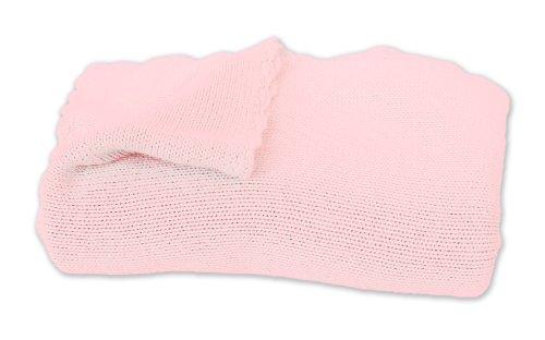KicKee Pants Knit Blanket, Lotus, One Size