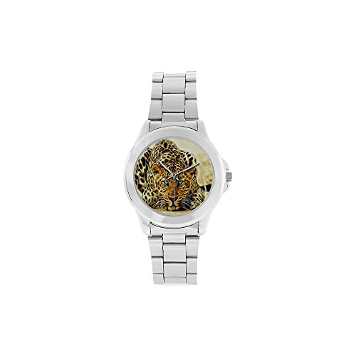 Festival Gift Cool Cheetah/Leopard Unisex Stainless Steel (The Fashion Citizen Halloween)