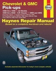 Haynes Chevrolet & GMC Pick-ups, 2WD & 4WD (88-00) Manual (24065)