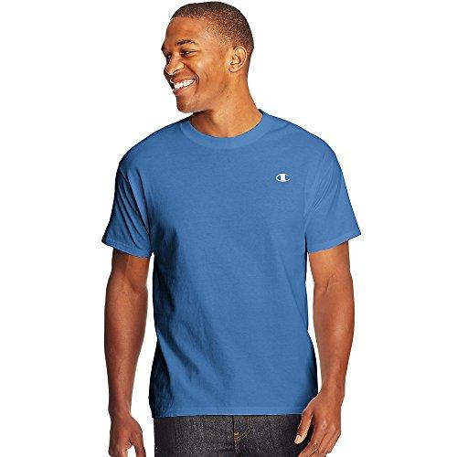 Champion Cotton Jersey Men's T Shirt_Windchill Blue_S
