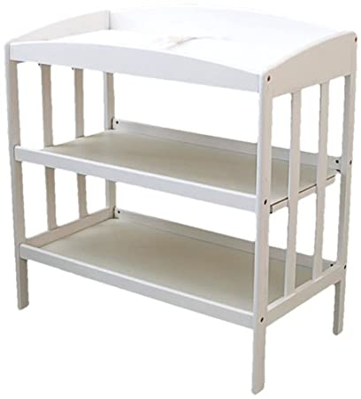 Sensational La Baby 3 Shelf Wooden Changing Table White Discontinued By Manufacturer Download Free Architecture Designs Embacsunscenecom