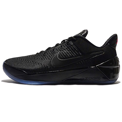 Nike Men's Kobe A.D. EP, BLACK/BLACK-GUM LIGHT BROWN, 10 M US