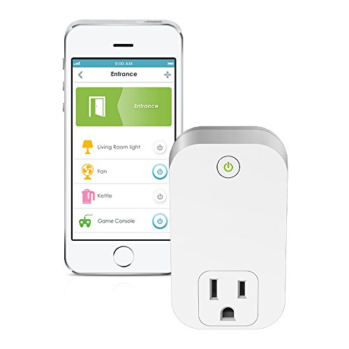 D-Link Smart Plug, Wi-Fi, On/Off, Works with Amazon Alexa and Google Assistant (DSP-W110)