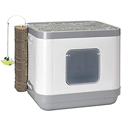 Cat Box Moderna Cat Concept All-in-One Litter Box [tag]
