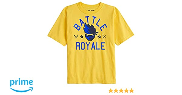 Team Ninja Shirt Youtube NinjasHyper Battle Royale Puff Head Boys T-Shirt