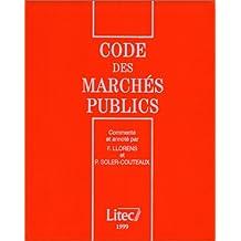 CODE DES MARCHES PUBLICS