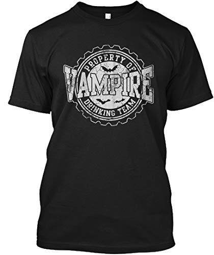 (Vampire Drinking Team Halloween Costume 3XL - Black Tshirt - Hanes Tagless)