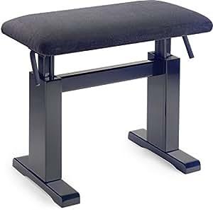 Amazon Com Stagg Pbh780 Hydraulic Piano Bench With Black