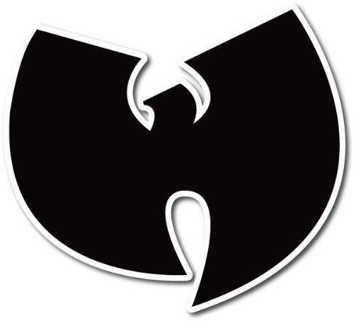 Wu Tang Clan Hip Hop Band Black Car Bumper Sticker Decal 5