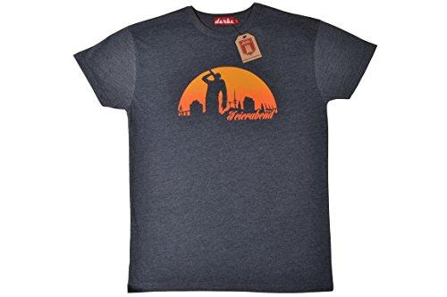 derbe Herren T-Shirt,Feierabend