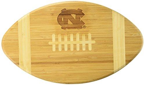 Tar Heels Athletics - NCAA North Carolina Tar Heels Touchdown! Bamboo Cutting Board, 16-Inch