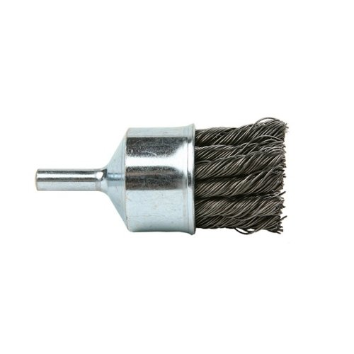 (Lincoln Electric KH283 Knotted End Brush, 20000 rpm, 1-1/8