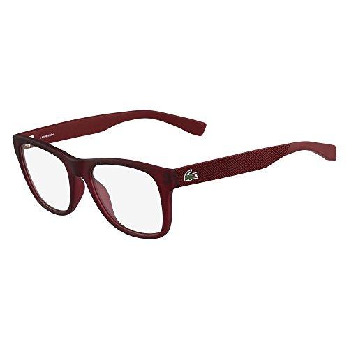 L2766 604 Montature Rosso Matte 52 Lacoste burgundy adulto Unisex zUFqwAf