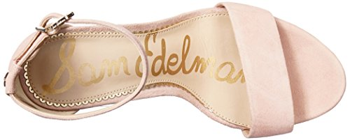 Seashell Suede Sandal Sam Pink Edelman Yaro Women's Heeled gwyvX4q
