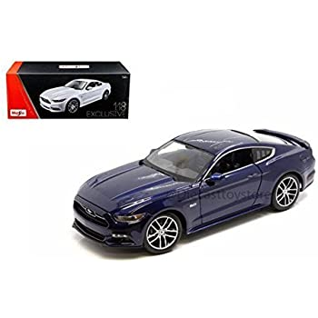 MAISTO 1:18 EXCLUSIVE EDITION - 2015 FORD MUSTANG GT 38133DKBL