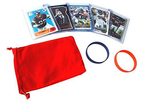 J J Assorted Football Cards Bundle