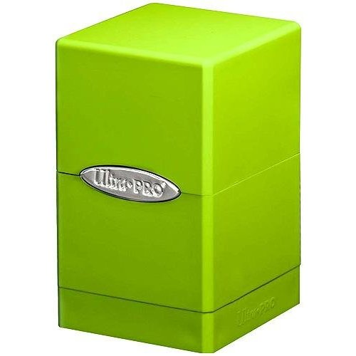 Lime Green Satin Tower Deck - Lime Pro