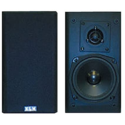 KLH 2 Way 100 Watt Bookshelf Speakers
