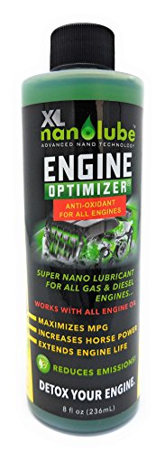 XL Nanolube Engine Oil Additive and Nano Oil Engine Treatment transforms your Motor Oil Synthetic Oil High Mileage Oil to Make your Old Engine run like New, 8 oz [Buy 2 or more save 10% off order]