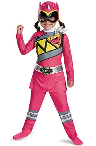 8eighteen Power Rangers Pink Ranger Dino Charge Classic Toddler Costume (Pink Power Ranger Toddler Costume)