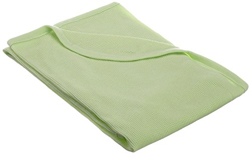 TL Care 100% Cotton Swaddle/Thermal Blanket, Celery