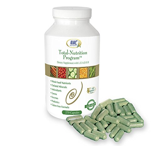 "Total-Nutrition Program - 270 Ct""New Improved"" Multi-Vitamin with Enzymes and Probiotics"