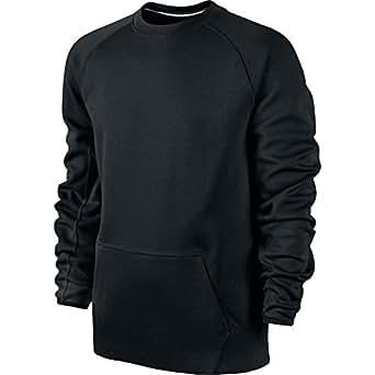 Nike Tech Fleece Crew Neck Men's Sweatshirt Black 545163-010 (Size 4X)