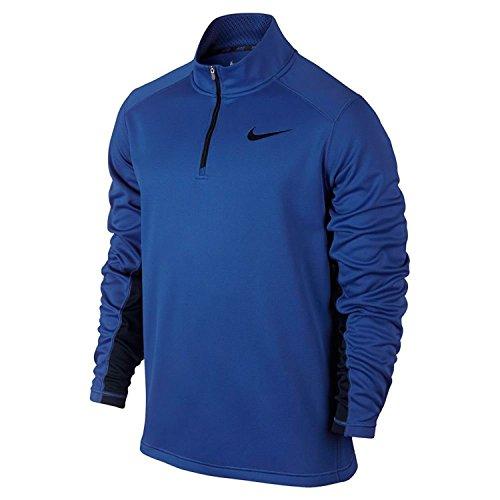 Blue 1/4 Zip Sweatshirt - 3