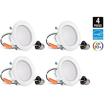 Sylvania 70419 Ultra Led 50w Consuming 9w 4 Inch Dimmable