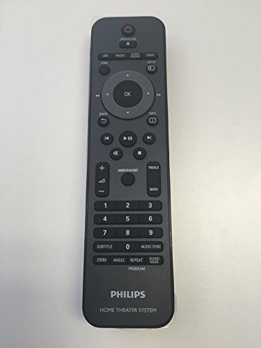 PHILIPS HOME THEATER REMOTE CONTROL 996510026446 for HTS6120 HTS6120/37 by Philips