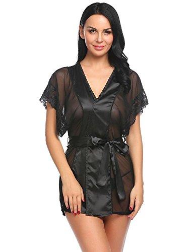 wddgpzsy Camisa de noche/Sleepwear/Nightwear/pijama/pigiameria/albornoz mujer vestidos