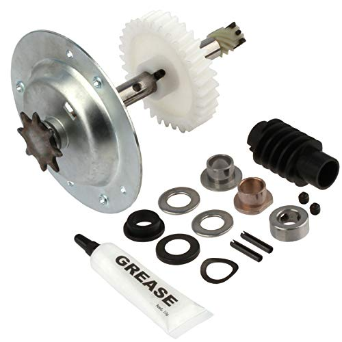 - Replacement for Liftmaster 41c4220a Gear and Sprocket Kit fits Chamberlain, Sears, Craftsman 1/3 and 1/2 HP Chain Drive Models