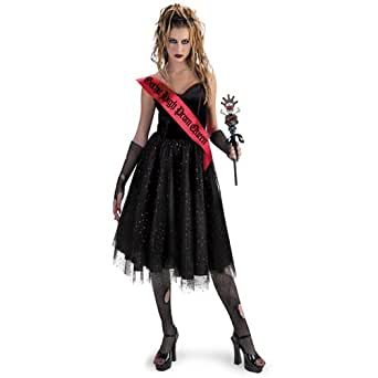 Amazon.com: Gothic High Prom Queen Teen Costume (Teen Size