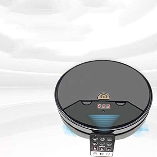 BlackEdragon Robot de Balayage Smart Home Appliance Télécommande Balayeuse Machine de Charge à Domicile Aspirateur Paresseux Moping Machine Noir