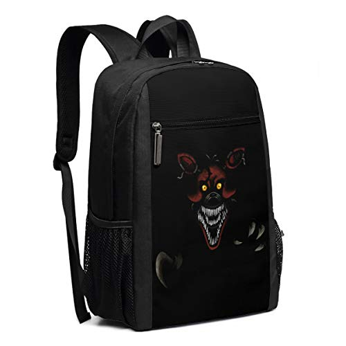 - Backpack, Travel Hiking Nights At Freddy's Feaf4 Nightmare Foxy Backpacks Lightweight Mens Womens Unisex Computer Gaming Laptop Shoulder Bag Outdoor Backpacks For Men Women Adults