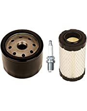 OxoxO 492056 oliefilter met 796031 591334 594201 luchtfilter voor Briggs & Stratton 31A507 31A607 31A677 31A707 31A807 31C707 31E577