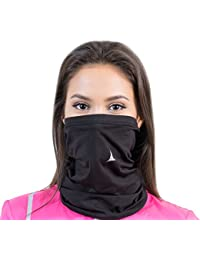 Fleece Neck Warmer [Solids]/Reversible Neck Gaiter Tube, Ear Warmer Headband, Mask & Beanie. Ultimate Thermal Retention, Versatility & Style. Performance Comfort Fleece & Polyester Construction