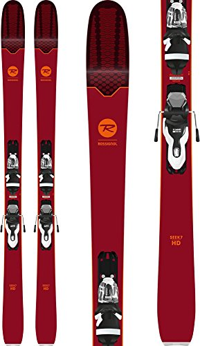 (Rossignol Seek 7 HD Skis w/Xpress 11 Bindings Black/White Mens Sz 168cm)