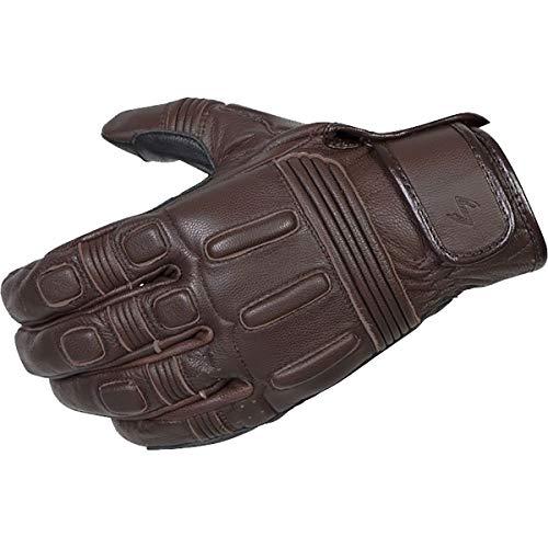Scorpion Bixby Classic Motorcycle Glove G25-044 (Brown, Medium)