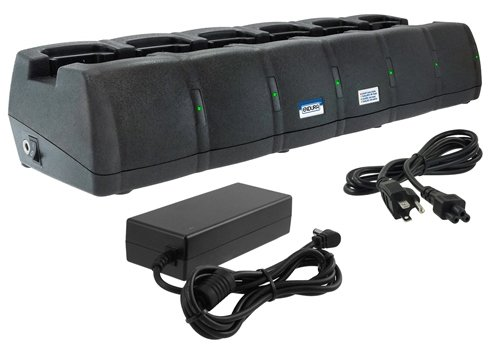 Power Products Endura EC6M+TWP-VX7 6-unit charger for Vertex EVX and VX Series