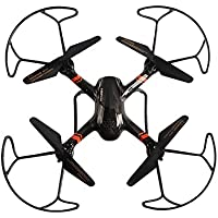 Mini RC Quadcopter Helicopters, Mould King Super-F 4CH 2.4GHz 6-Axis Remote Control Quadcopter with LED Flashing