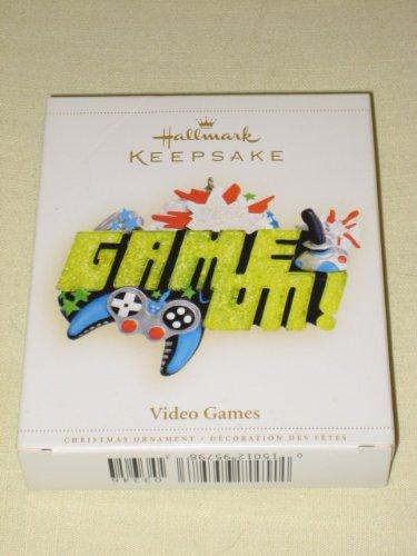 2006 Hallmark Keepsake '' Video Games '' Christmas Tree Ornament - QXG-3346