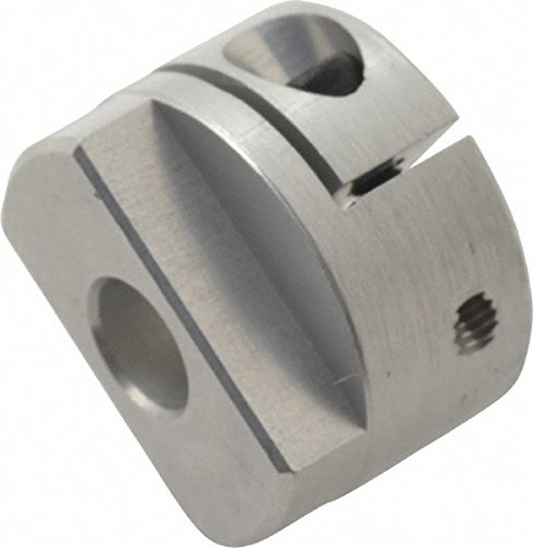Aluminum No Keyway Inch Lovejoy 58089 Size MOL20 Oldham Set Screw Style Coupling 0.25 Boar 0.906 Overall Coupling Length 10.6 in-lbs Nominal Torque 0.787 OD