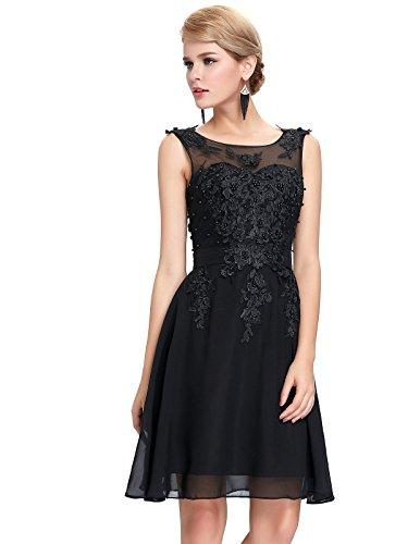 Elegant Sleeveless Chiffon Short Prom Dress