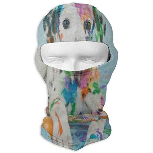Balaclava Watercolor Hipster Puppy Dog Full Face Masks Ski Motorcycle Neck Hood Cycling