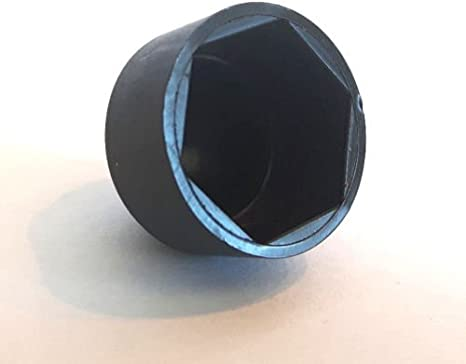 schwarz f/ür Schrauben und Muttern Kunststoff PE Sechskant-Schutzkappen 100 St