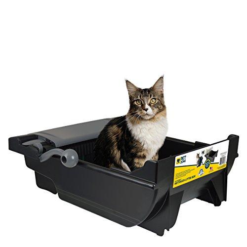 Pet-Zone-EZ-Scoop-No-Touch-Cat-Litter-Box