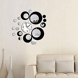 Clocks - Clocks Mirror Wall Sticker - 1PCs