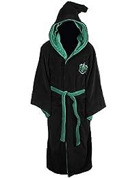 5692469afb All Houses Adult Fleece Hooded Bathrobe (One Size)